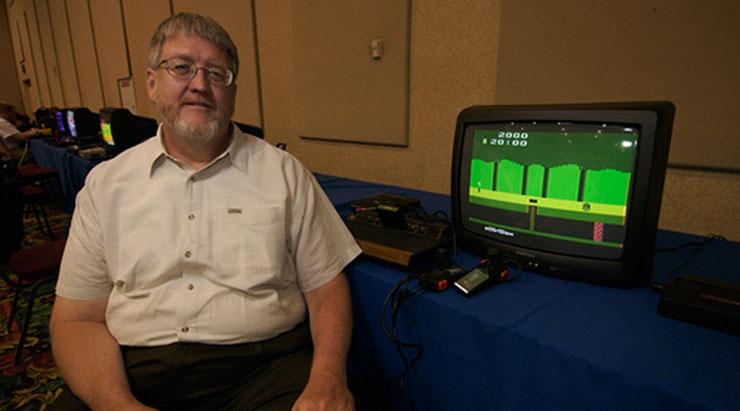 David Crane, criador de Pitfall, estará presente na Brasil Game Show