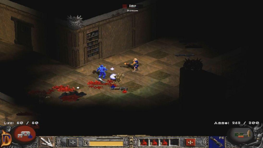 Alguém decidiu recriar Doom 2 dentro de Diablo 2