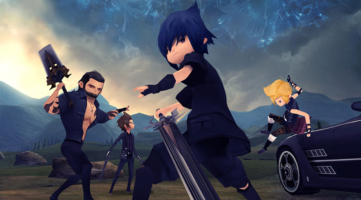 Final Fantasy XV: Pocket Edition pode dar as caras no Switch