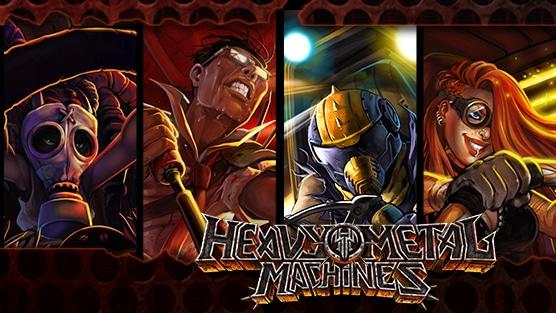 Detonator, do Massacration dublará narração do jogo Heavy Metal Machines