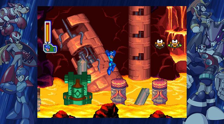 Mega Man Legacy Collection 2 permite destravar conteúdo usando um código de trapaça