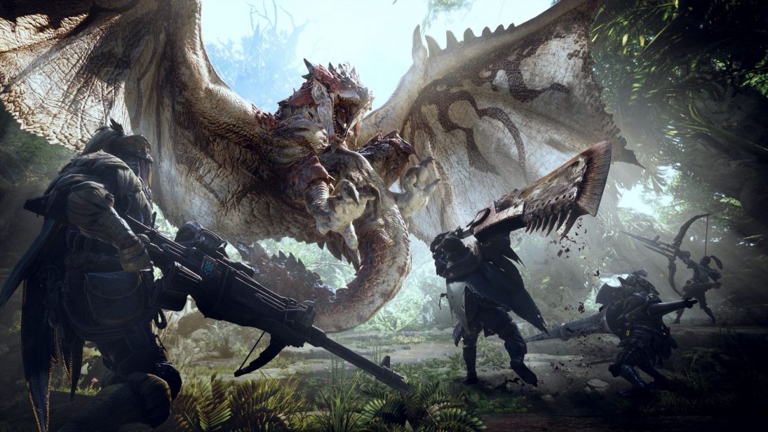 DLCs de Monster Hunter World serão gratuitos