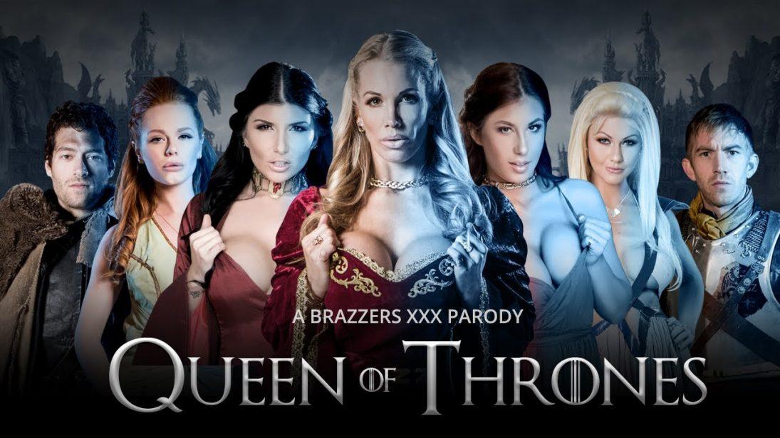 """Temporada de Game of Thrones acabando? Brazzers lança nova versão pornô """"Queen of Thrones XXX"""""""