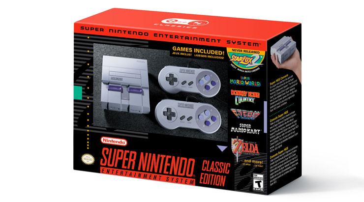 Distribuidora trará SNES Classic Edition para o Brasil