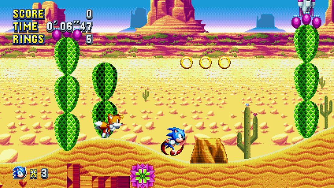 Sonic Mania torna-se o jogo mais bem avaliado do Sonic em 15 anos