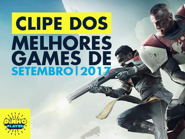 Anote na sua agenda os games de setembro!