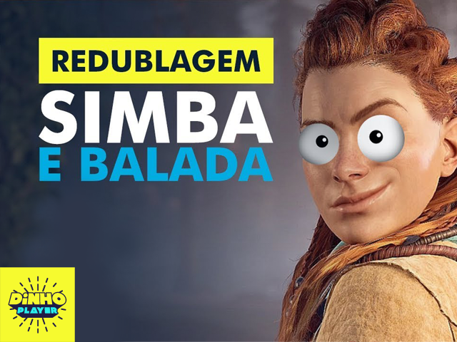 Curta essa redublagem do game Horizon Zero Dawn