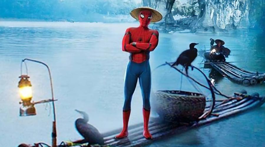 Homem Aranha na China - Foto 1
