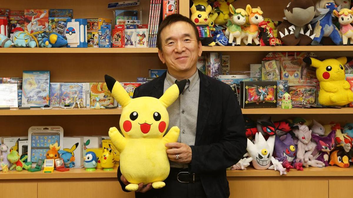 Tsunekazu Ishihara - Pokémon e Pikachu