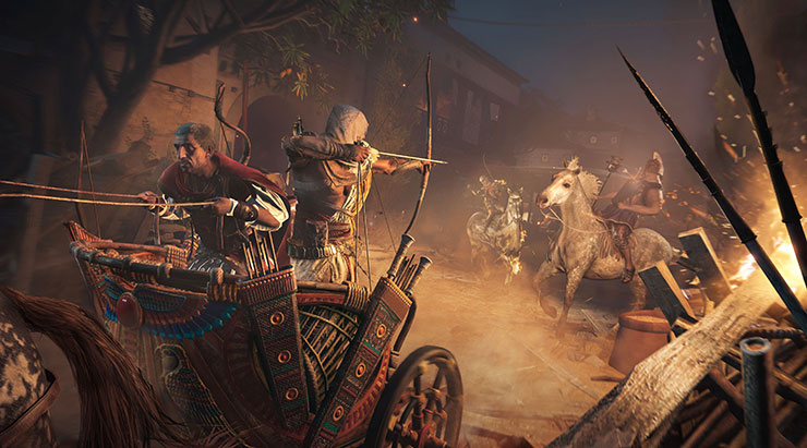 Assassin's Creed Origins está rodando melhor no Xbox One X do que no PC, segundo site