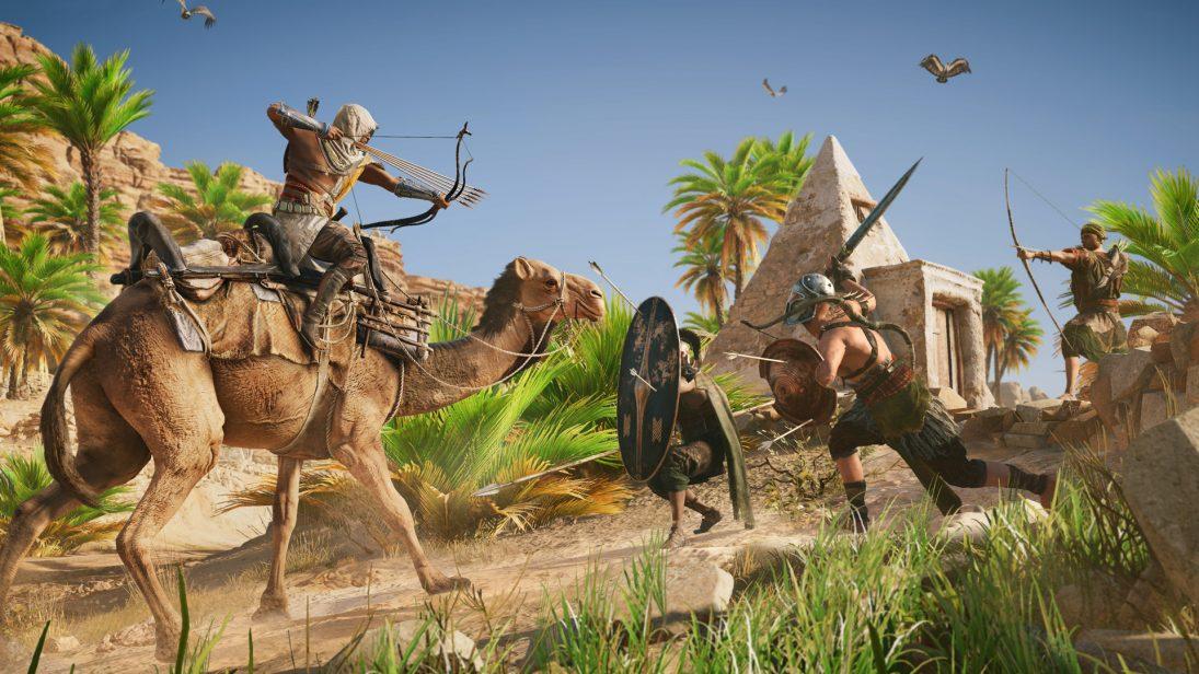 """""""Versão mais bonita"""", diz diretor sobre Assassin's Creed Origins no Xbox One X"""