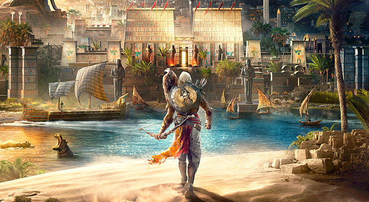 Ubisoft comenta sobre rumor de Assassin's Creed Origins ter modo 1080P/60 fps no Xbox One X