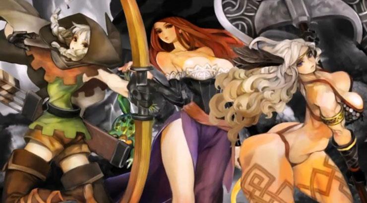 Anúncio de Dragon's Crown Pro para PS4 vaza em site japonês