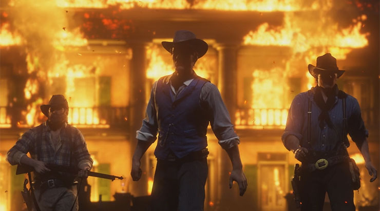 Sony afirma que novo trailer de Red Dead Redemption 2 foi capturado no PS4