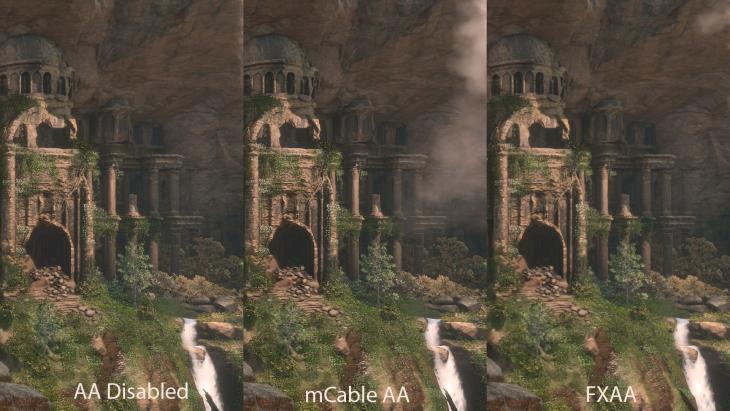 Comparação HDMI - Rise of The Tomb Raider