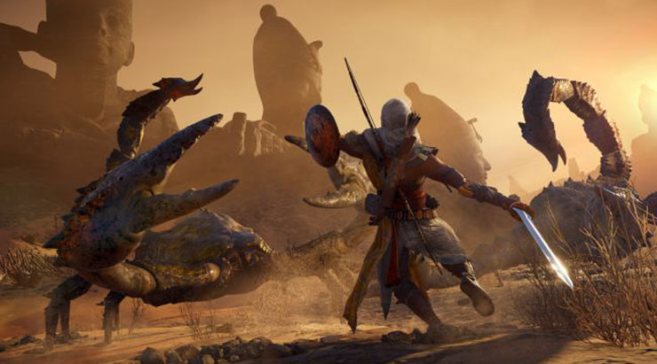 Assassin's Creed Origins ganhará modo New Game Plus