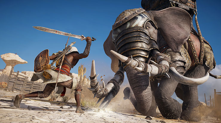 Divulgados os requisitos para jogar Assassin's Creed Origins no PC