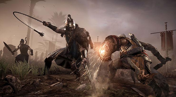 Assassin's Creed Origins terá níveis de dificuldade