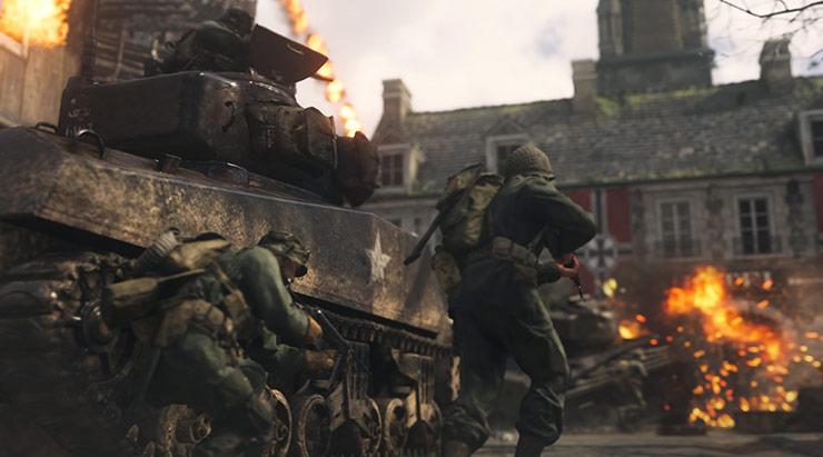 Steam: CoD WWII tem maior número de jogadores simultâneos na série desde 2012