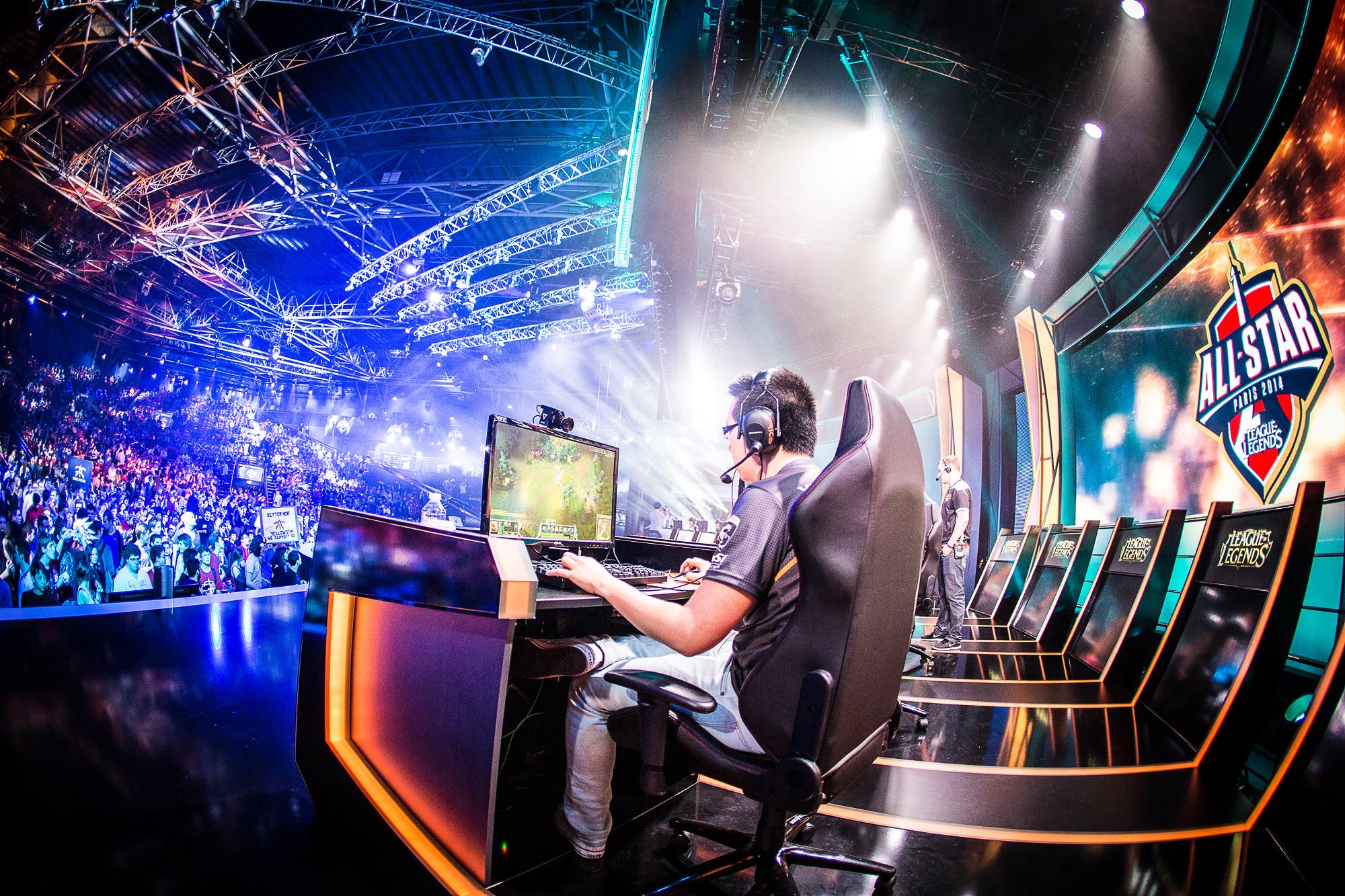 O eSports pode se tornar modalidade olímpica para 2024