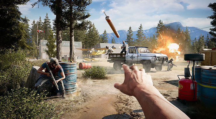 Revelados os requisitos para rodar Far Cry 5 no PC