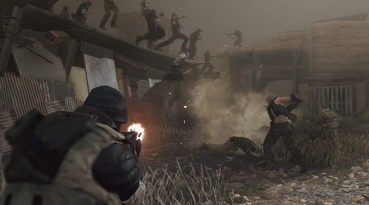 Metal Gear Survive necessita de uma conexão de internet para ser jogado