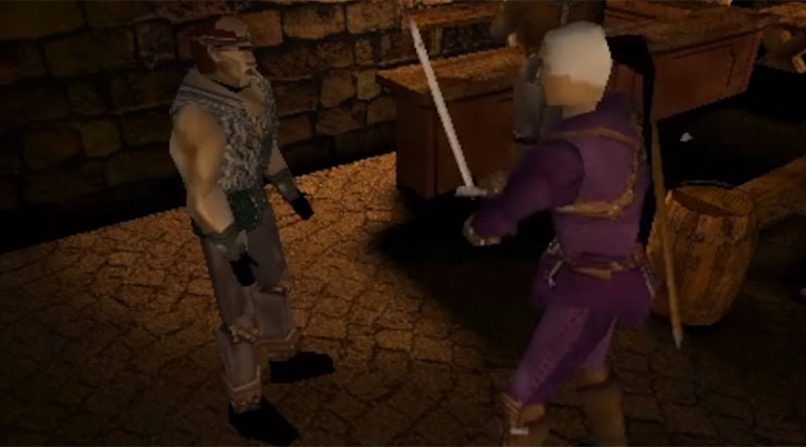 Surge vídeo com gameplay de Witcher dos anos 90