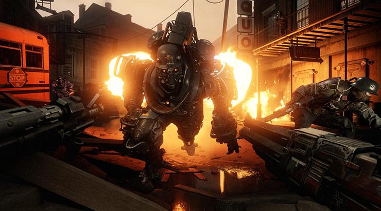 Designer de Wolfenstein II acredita que jogos de tiro single player estão morrendo