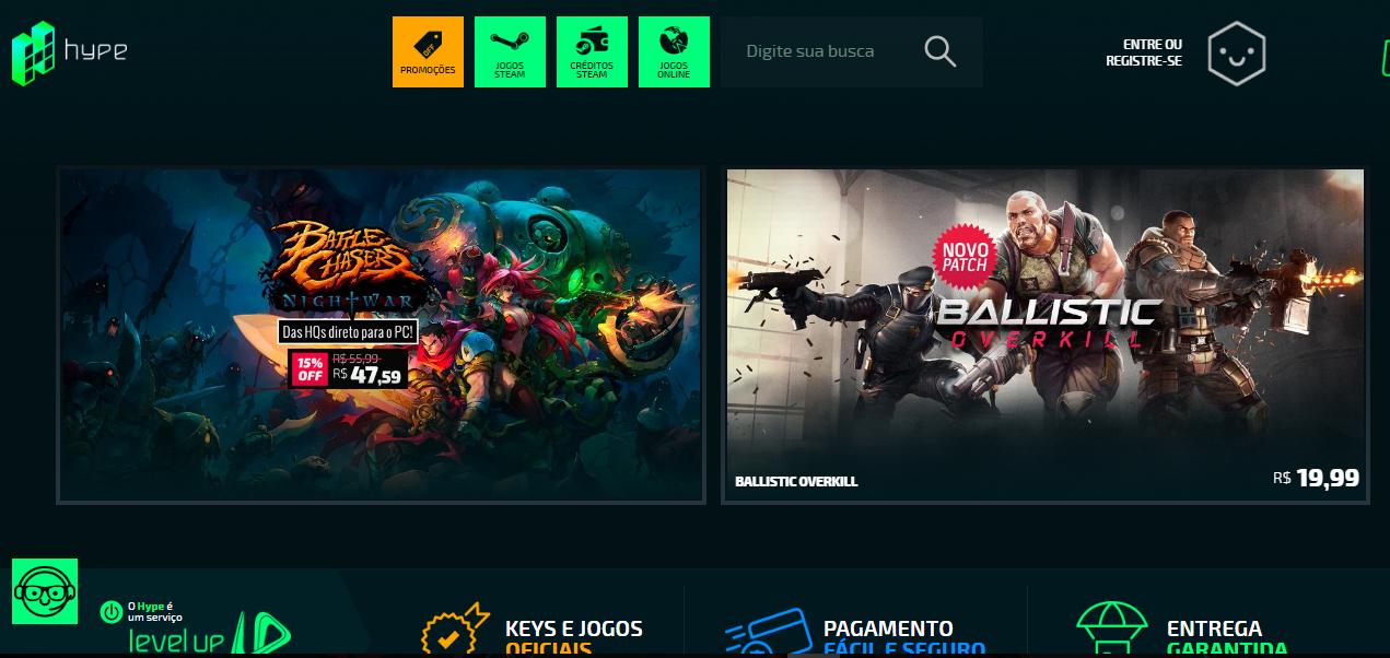 Corra, promoção com jogos de PC com até 75% de desconto termina hoje!
