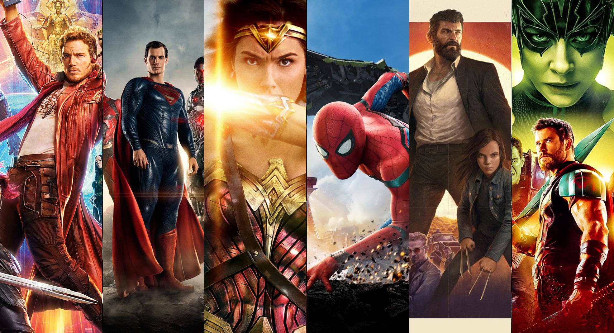 Top 6 - Os Melhores filmes de super-heróis de 2017!