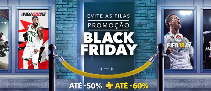 Promoção da Black Friday traz mais de 200 ofertas na PlayStation Store