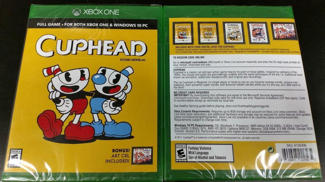 Cuphead ganhará edição física no Xbox One esta semana