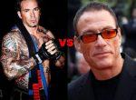 Jean Claude Van Damme e Jason David Frank, ex-Power Ranger Verde, quase saem na porrada em evento!