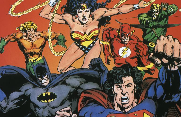 Liga da Justiça – Os Heróis da DC Comics lutando no Mega Drive!