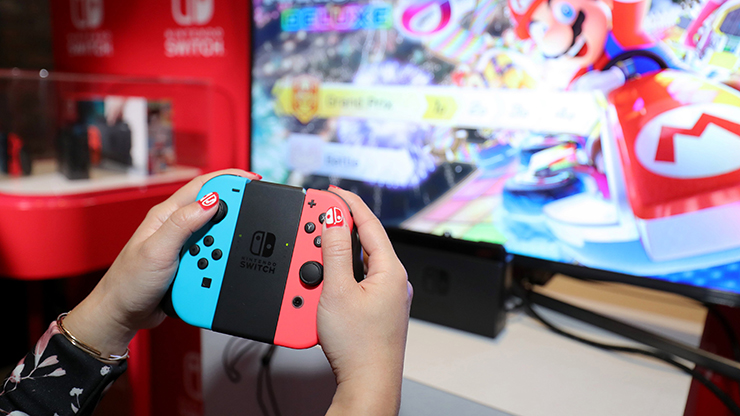 Amazon lista e remove 18 títulos para Nintendo Switch