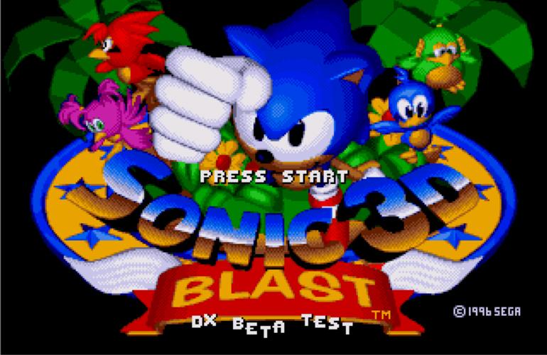 Versão beta de 'Sonic 3D Blast Director's Cut' é lançada