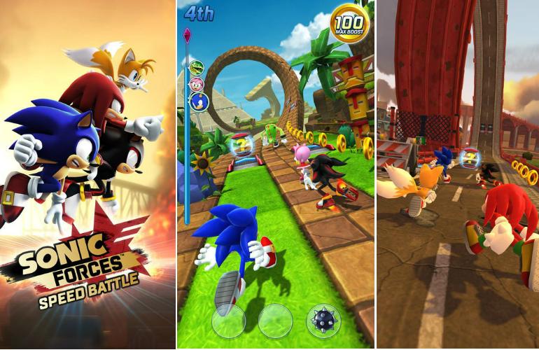 """""""Sonic Forces: Speed Battle"""" chega aos dispositivos Android com recompensas para novos jogadores"""