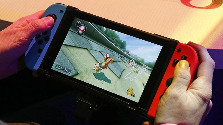 Switch vendeu quase 15 milhões de unidades em 2017