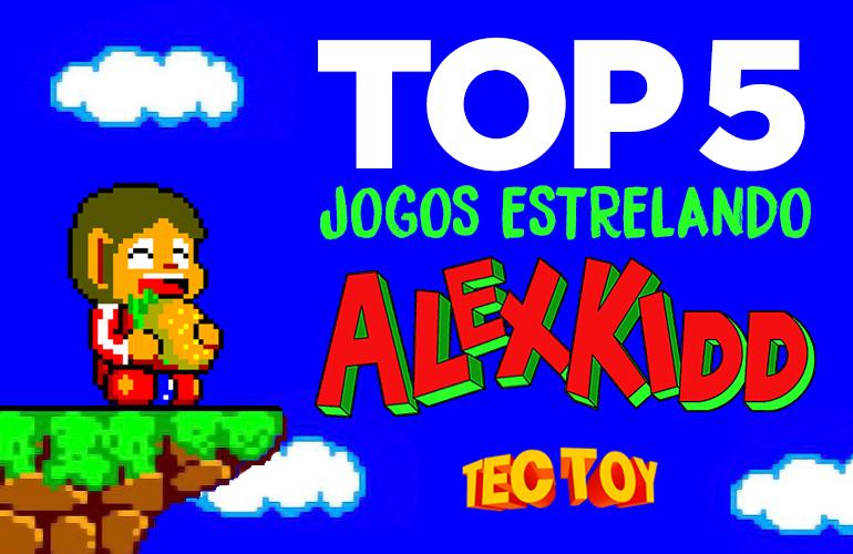 Confira 5 Jogos estrelados por Alex Kidd no Master System!