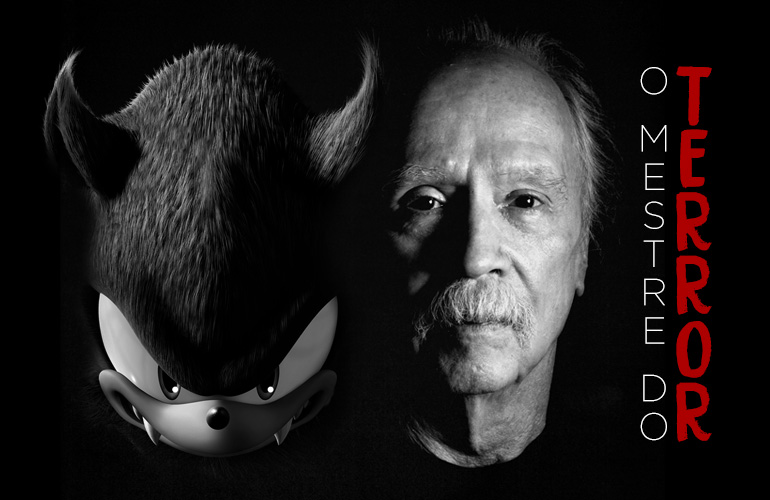 John Carpenter, criador de Halloween e outros clássicos cult, é um grande fã de Sonic!