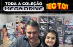 Conheça Ricardo Régis, colecionador que tem todos os modelos de Mega Drive lançados pela Tectoy!