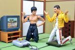 Action Figures - As Aventuras de Bruce Lee e Freddie Mercury
