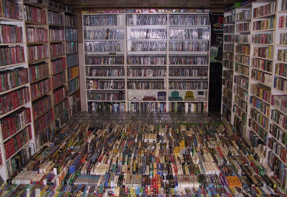 Jogador vende coleção gigantesca com mais de 2700 jogos por quase 15 mil dólares!