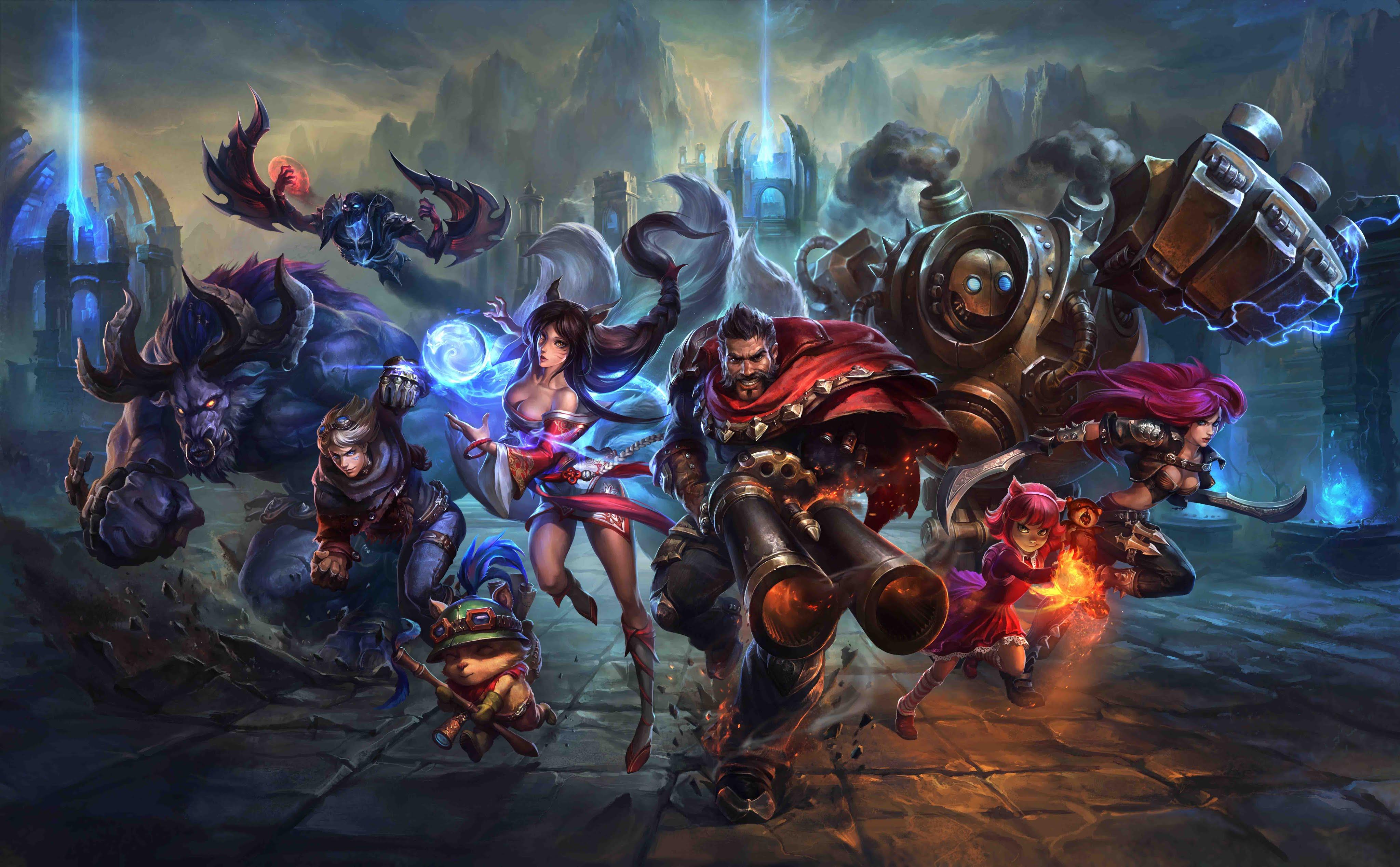 League of Legends - KeyArt