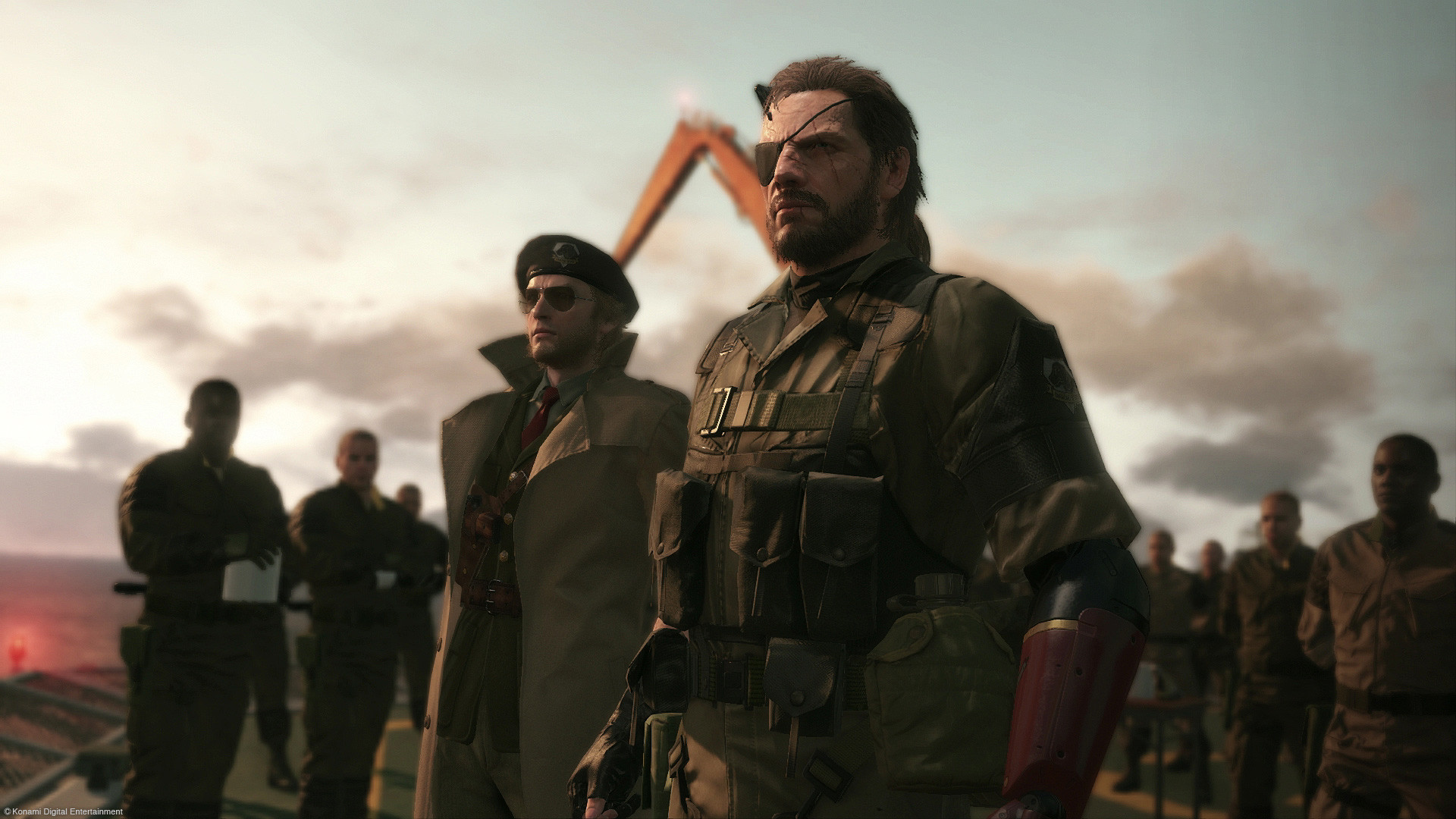 Metal Gear Solid V - The Phantom Pain - Imagem