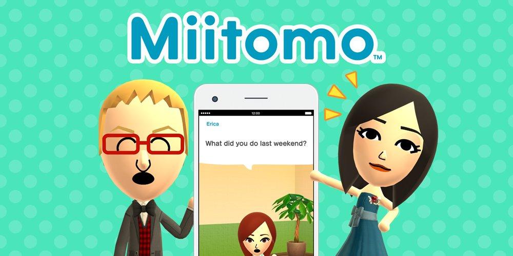 Aplicativo Miitomo, da Nintendo, será desativado em maio