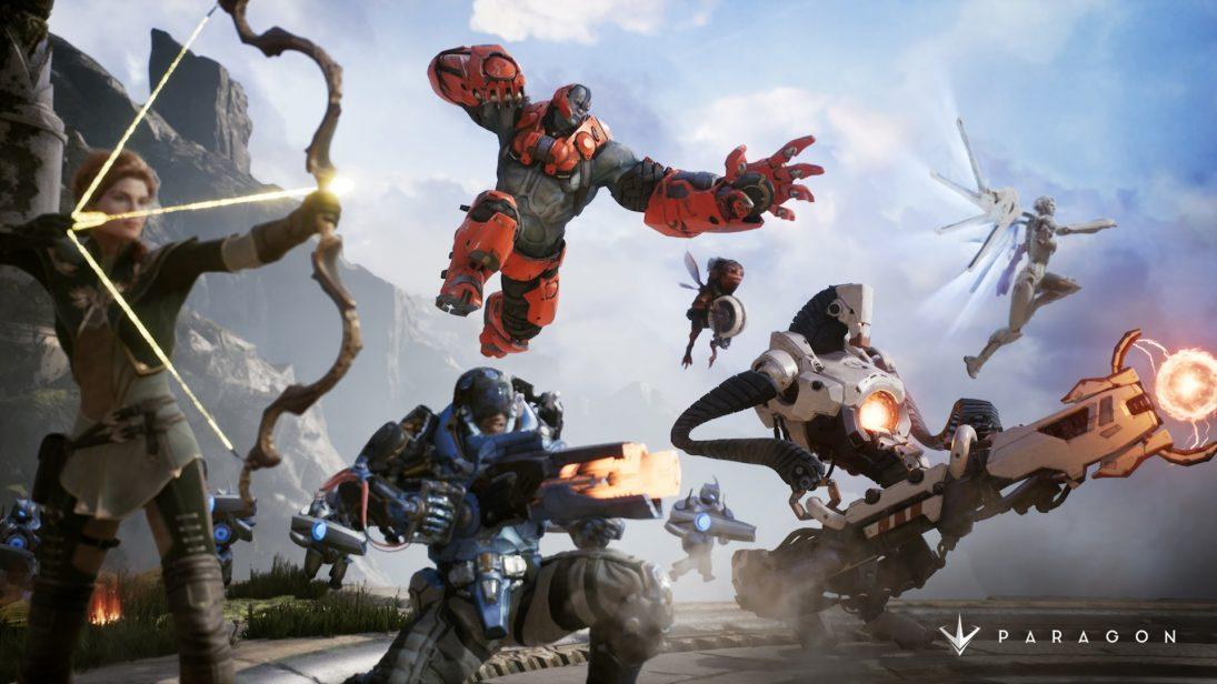 Epic Games desligará os servidores de Paragon em abril