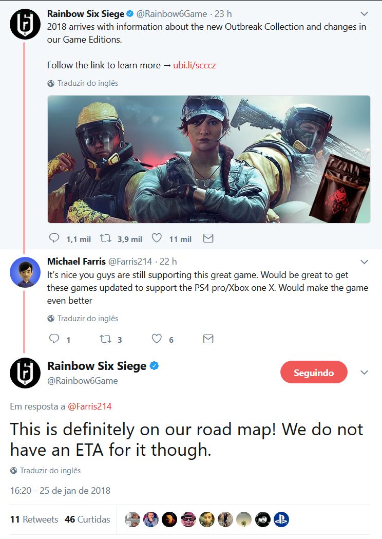 Rainbow Six Siege - Updates XoneX