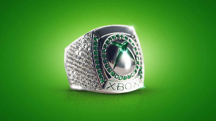Microsoft criou um anel oficial do Xbox com 188 diamantes