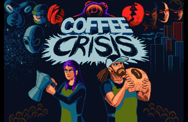 Coffee Crisis, jogo lançado para Mega Drive por estúdio indie, ganha versão para PC em fevereiro